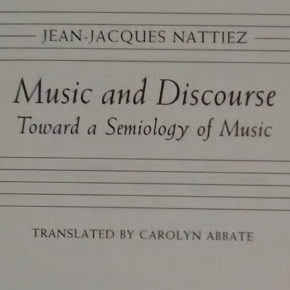 Music and Discourse